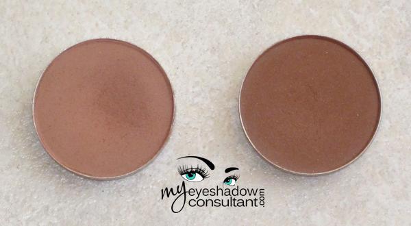 mac swiss chocolate vs brown down