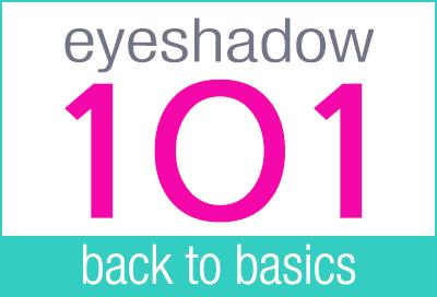 Eyeshadow 101 | Back to Basics