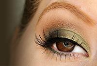 Brown Eyes Series: Green Eyeshadow