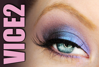 Purple Look with UD Vice2 Palette