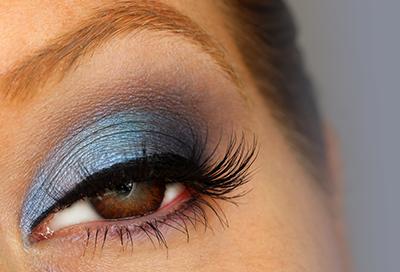 Brown Eye Series: Blue Eyeshadow
