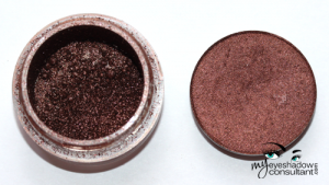 (L to R) Chocolate Brown pigment, Glamour Check!