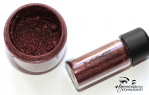 (L to R) Heritage Rouge pigment, Reflects Blackened Red pigment